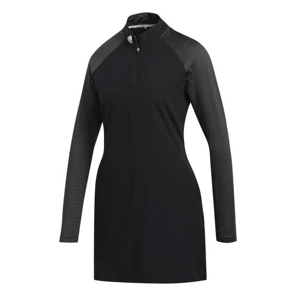 adidas longsleeve Kleid Damen schwarz