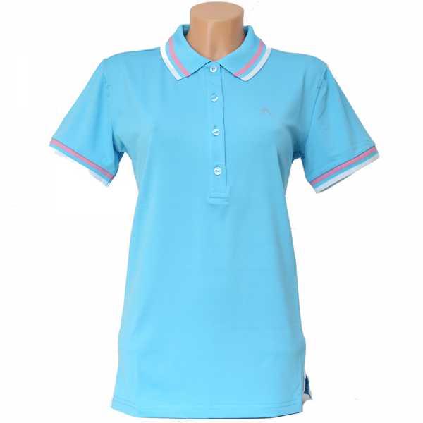 Alberto ISY Dry Comfort Polo Damen blau