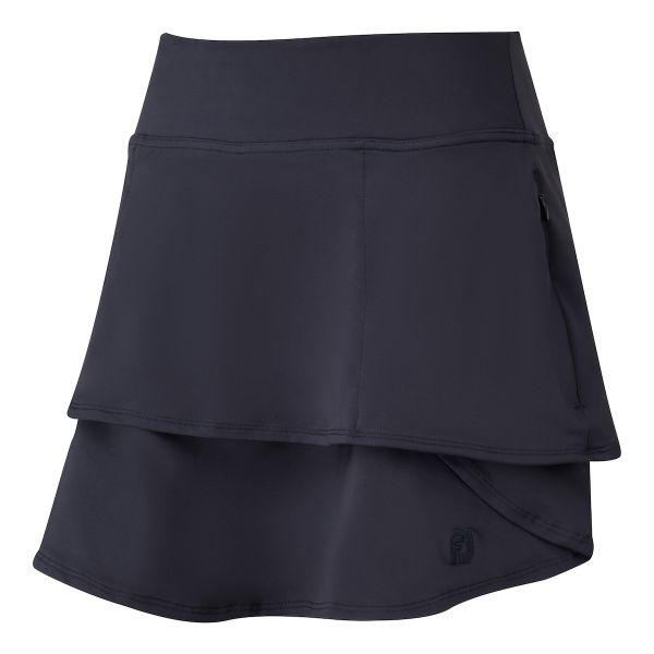 Footjoy Lightweight Jersey Knit Layered Skort Damen navy