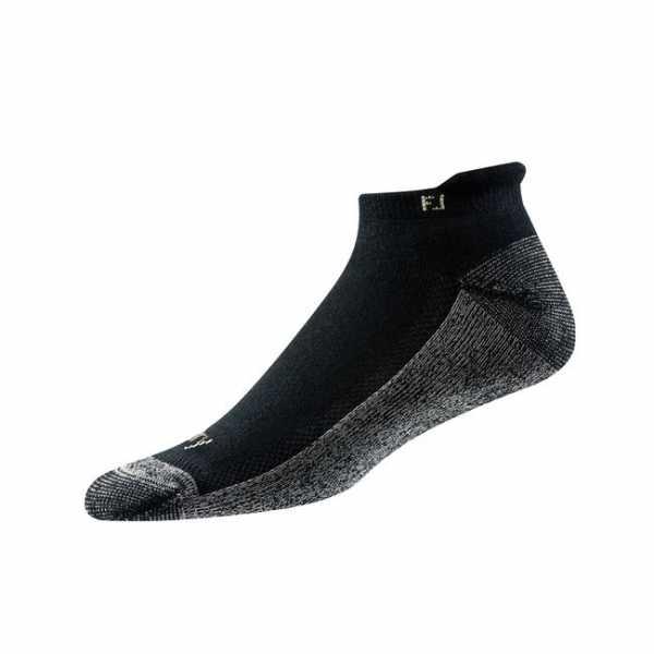 Footjoy ProDry Roll-Tab Socken Herren schwarz