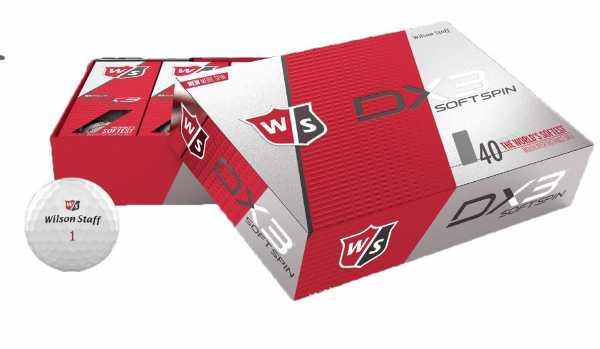 Wilson Staff DX3 softspin Bälle 2018 12 Stück