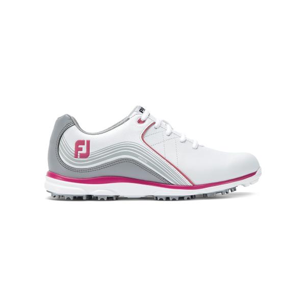 Footjoy Pro SL Schuh Damen weiß/fuchsia