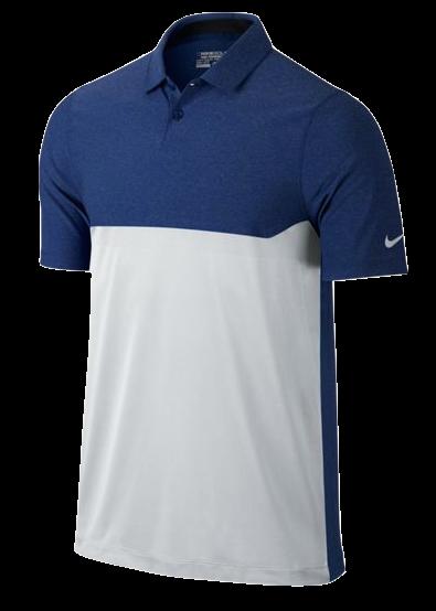 Nike Modern Major Moment Tactical Polo Herren blau/weiß/grau