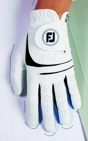 Footjoy Weathers Handschuh Damen weiß