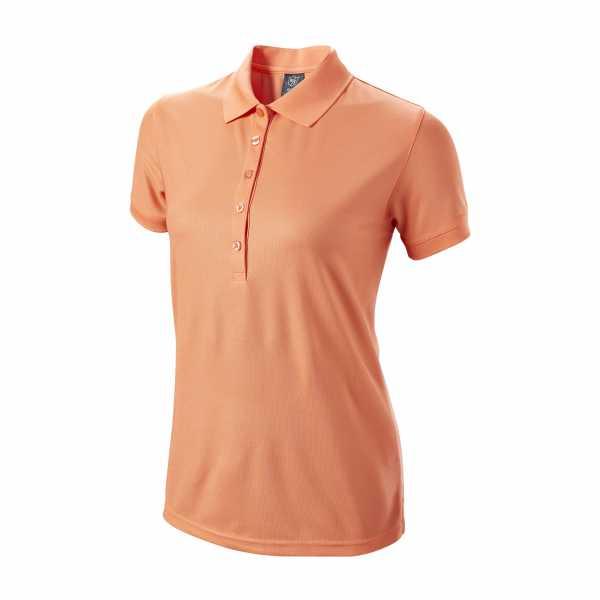 Wilson Authentic Polo Damen orange