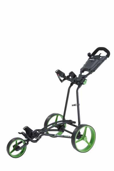 Big Max Autofold + Trolley schwarz/grün