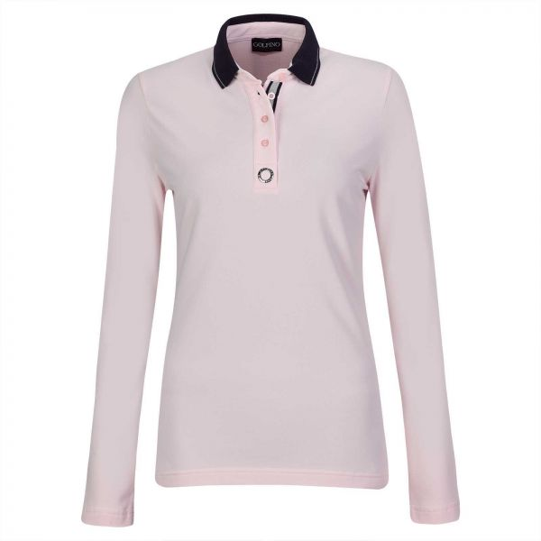 Golfino Silver Touch UV Polo Damen rosa