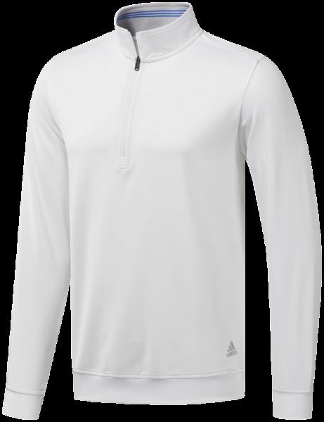 Adidas Classic Club Halfzip Pullover weiß