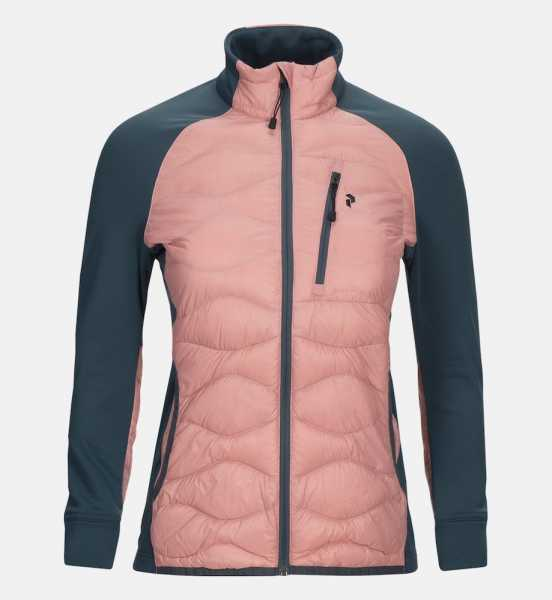 Peak Performance HELIUHYB Jacke Damen rosa
