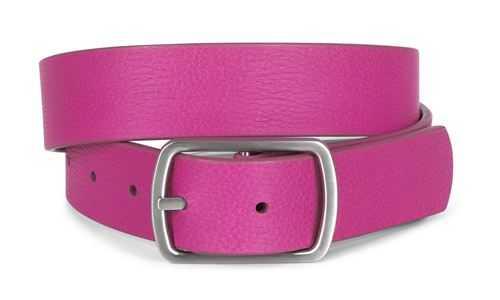 Ecco Hadley Ledergürtel Damen - pink