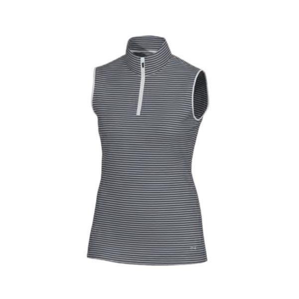 Brax Golf Trix sleeveless Polo Damen grau