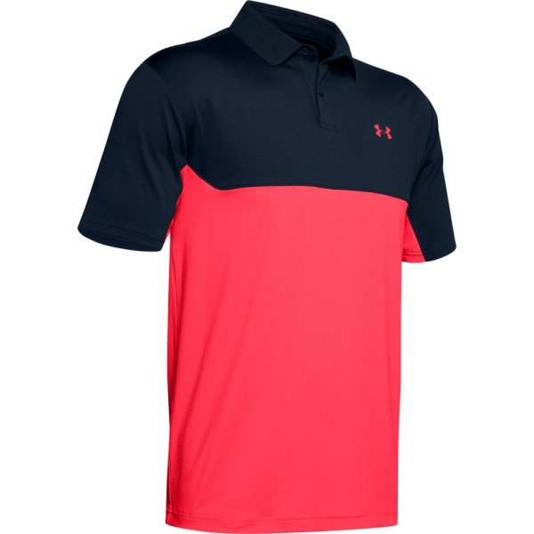 Under Armour Performance Polo 2.0 Colorblock Herren navy/rot