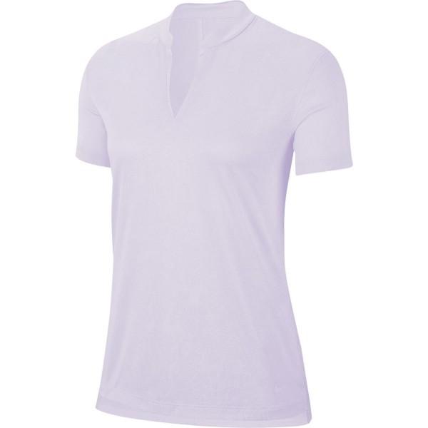 Nike Breathe Golf Polo Damen lila