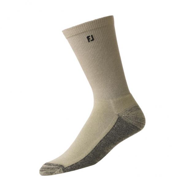 Footjoy ProDry Crew Socken lang Herren hellbraun