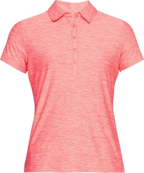 Under Armour Zinger SS Polo Damen pink