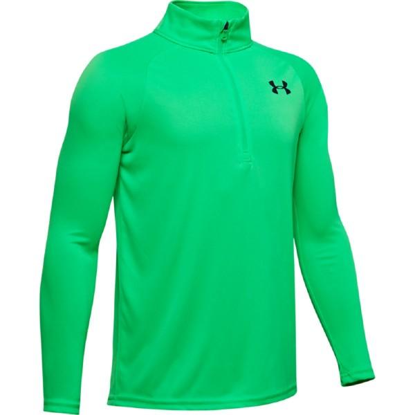 Under Armour Tech 2.0 1/2 Zip Pullover Jungen grün