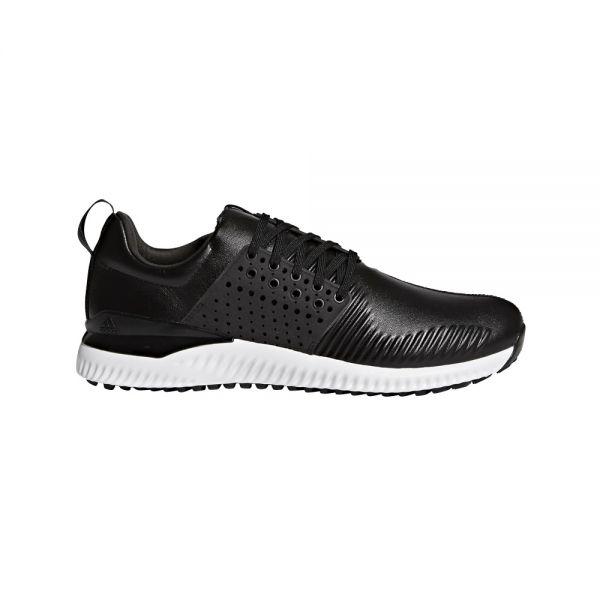 adidas Adicross Bounce Leder Schuh Herren schwarz