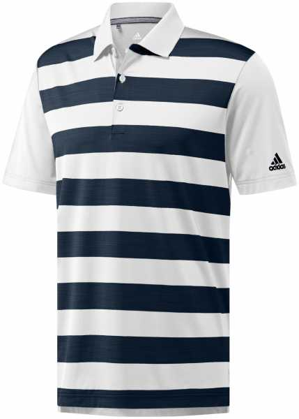adidas ULTIMATE365 Rugby Block Polo Herren weiß/navy