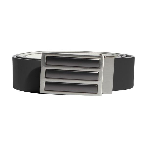 adidas 3-Stripes Tour Reversible Gürtel Herren grau/schwarz