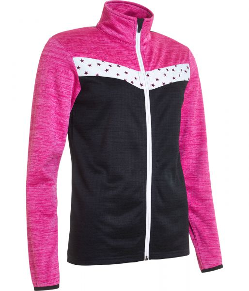 Abacus Fortrose Full-Zip Fleece Jacke Damen schwarz/weiß