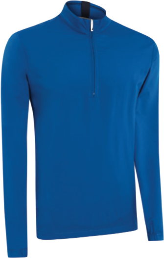 Ashworth Performance Wind Half-Zip Pullover blau