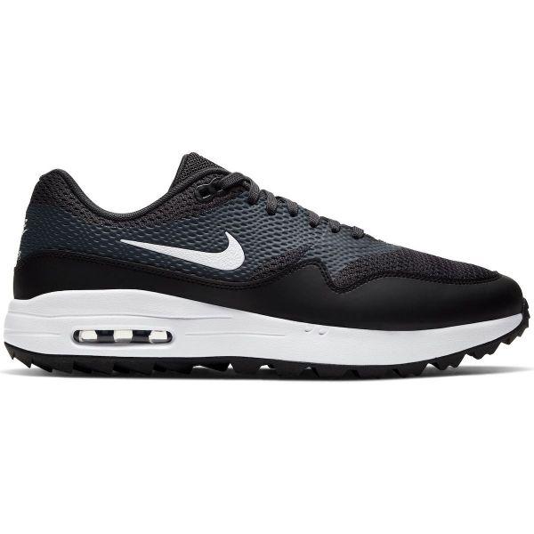 Nike Air Max 1G Textil Golfschuh Herren schwarz