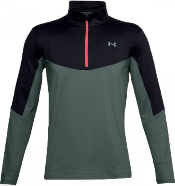 Under Armour Storm Midlayer 1/2 Zip Herren grau/schwarz