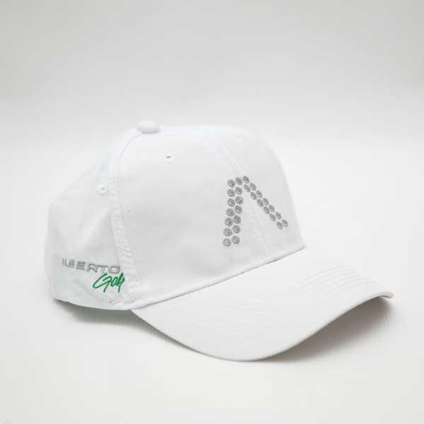Alberto Golf Cap 2017 weiß