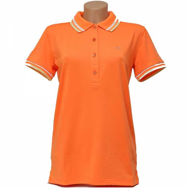 Alberto ISY Dry Comfort Polo Damen orange
