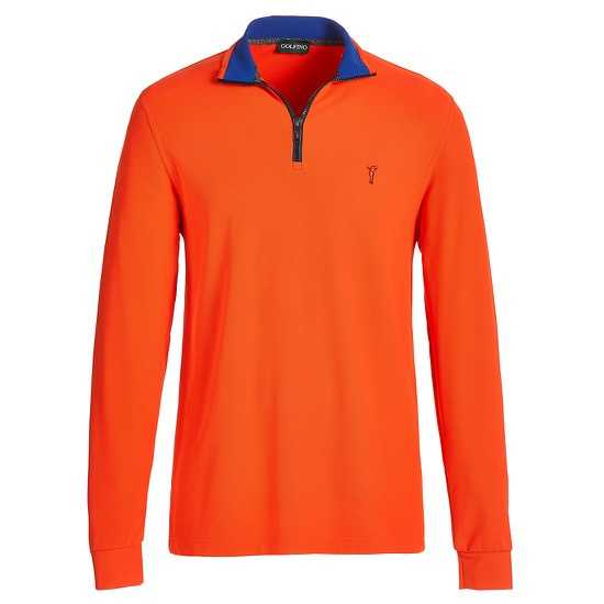 Golfino Extra Dry Troyer Herren orange