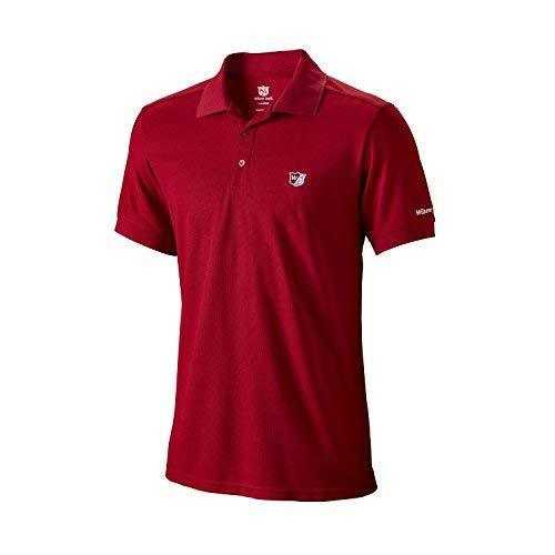 Wilson Performance Polo Herren rot