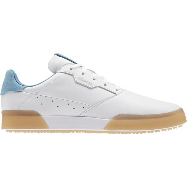 adidas adicross Retro Golfschuh Herren weiß/hellblau