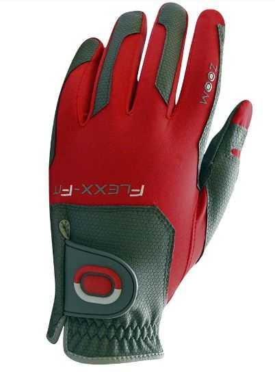 Zoom Gloves Weather Herren rot/grau
