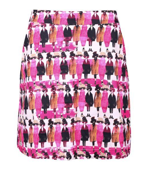 Girls Golf Ladiesday Skort Damen pink/schwarz