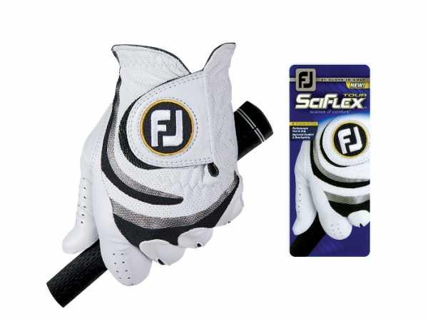 Footjoy SciFlex Tour Damenhandschuh weiß/schwarz