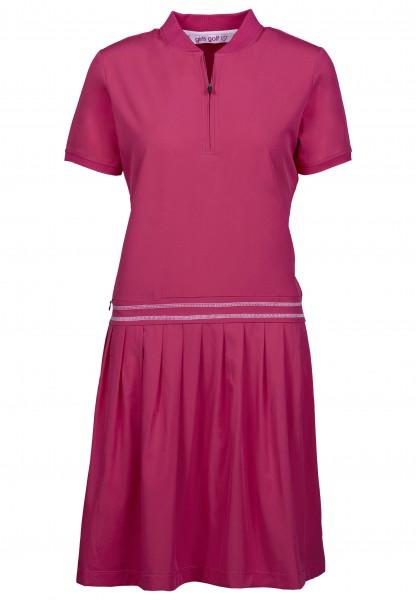 Girls Golf Just Pink Polo Dress Damen