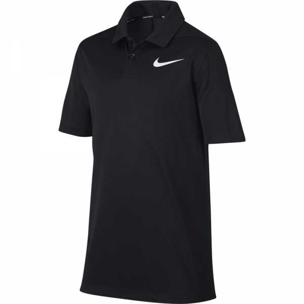 Nike Dry Victory Polo Jungen schwarz