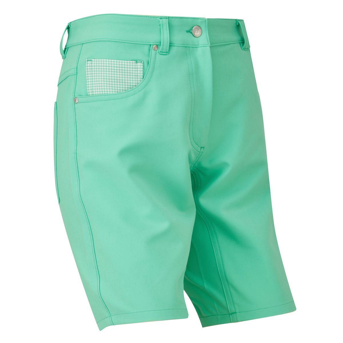 Footjoy Golfleisure Stretch Short Damen grün