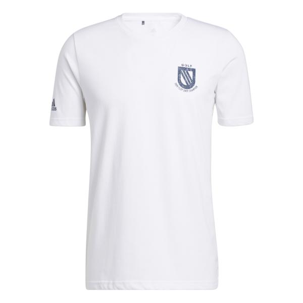 adidas Championship T-Shirt Herren weiß