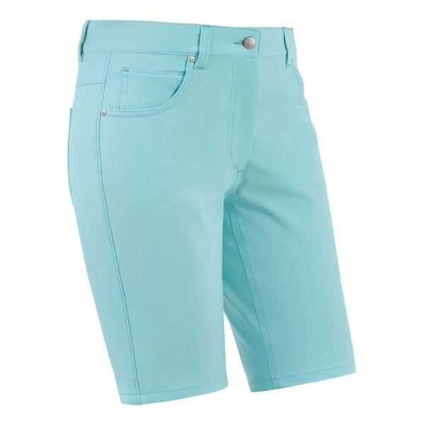 Footjoy Golfleisure Stretch Short hellblau