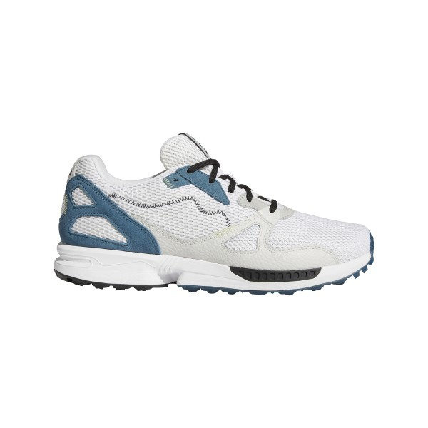 adidas Adicross ZX Primeblue Spikeless Golfschuh Herren weiß/schwarz/blau
