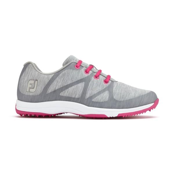 Footjoy Leisure Damen Schuh grau/pink