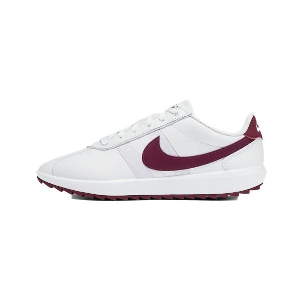 Nike Cortez G Golfschuh Damen weiß/rot
