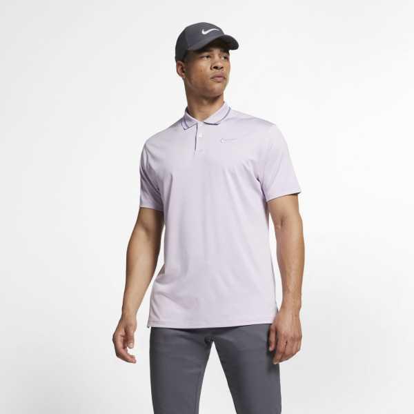 Nike Dry-Fit VAPOR Polo Herren lila