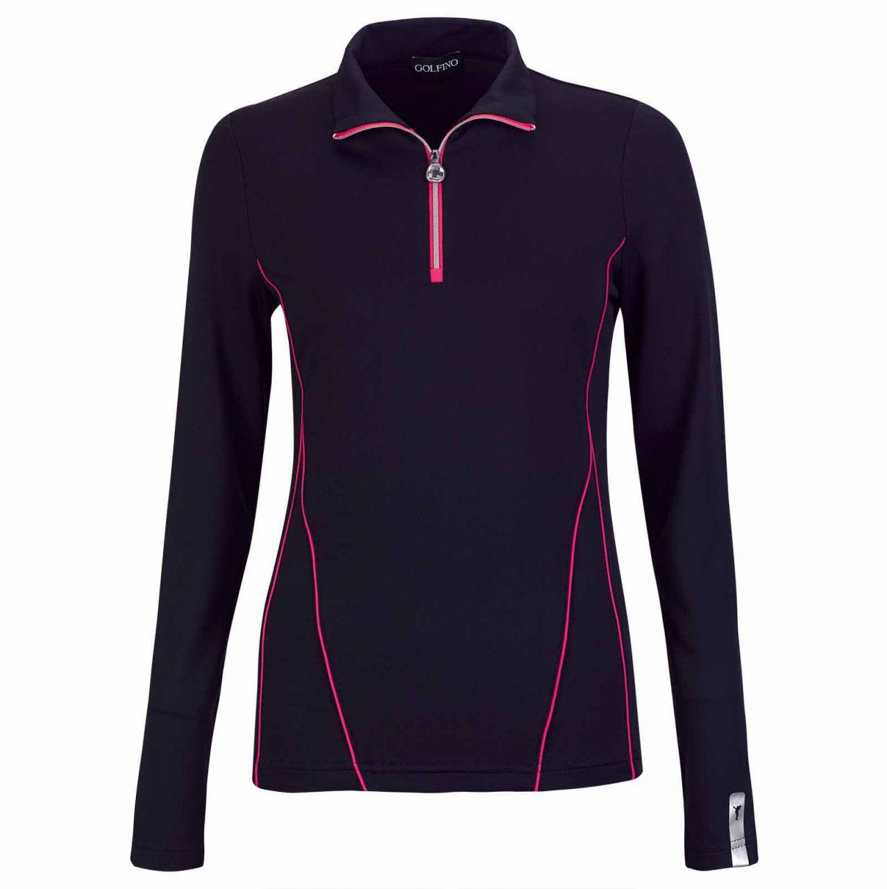 Golfino Revolution Dry Comfort Pullover Damen navy