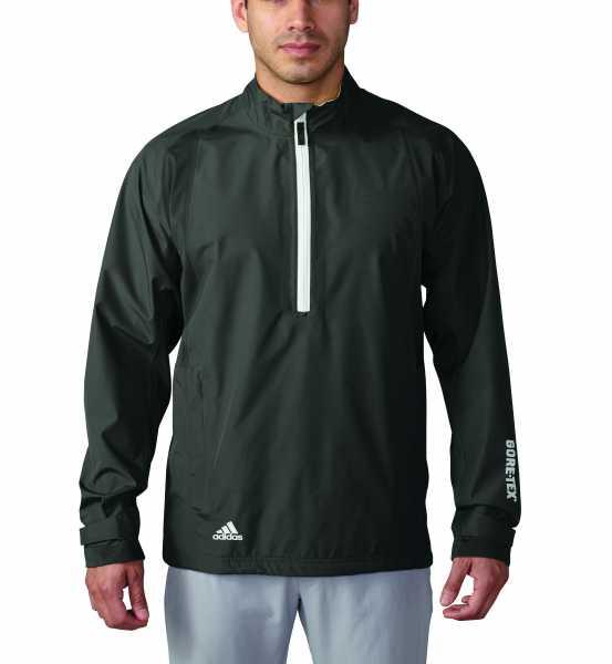 adidas GORE-TEX® Paclite 1/2-Zip Herrenjacke schwarz