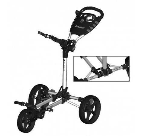 Fastfold Flat Trolley silber