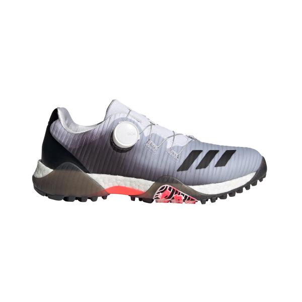 adidas CodeChaos BOA Golfshuh Damen grau/weiß/rot