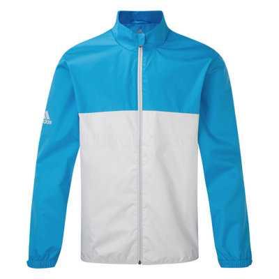 Adidas Provisional Waterproof Golf Jacke Herren blau/grau