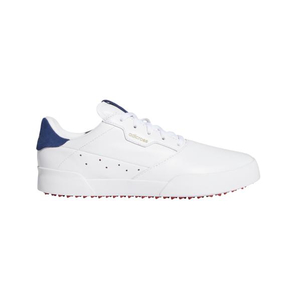 adidas Adicross Retro Golfschuh Damen weiß/navy